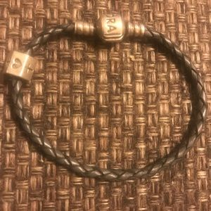 Authentic Pandora Gray bracelet size small